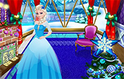 Juego Elsa Christmas Room Decoration
