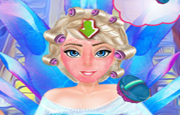 Frozen Elsa Freezing Makeover