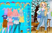 Juego Elsa Pregnant Dress Up