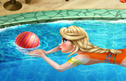 Juego Elsa Swimming Pool