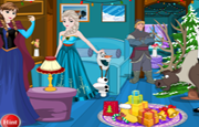 Frozen Christmas Room Decor