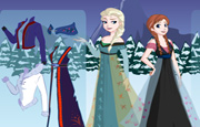 Princess Elsa Dress Up