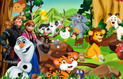 Juego Frozen Forest Animals