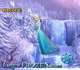 Princess Elsa Kick Up