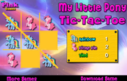 Juego My Little Pony Tic-Tac-Toe
