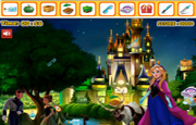 Juego Frozen Palace Hidden Objects