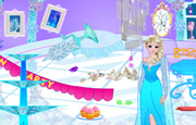 Pinky Frozen Party Cleanup