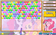 Juego My Little Pony Bubble